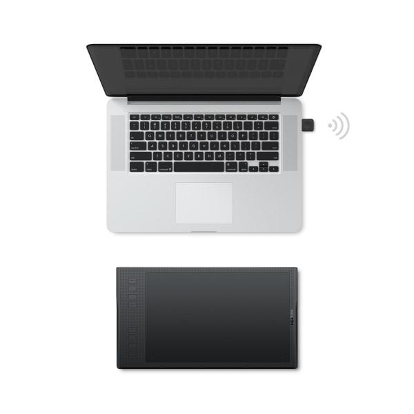 Беспроводное подключение графического планшета к ПК