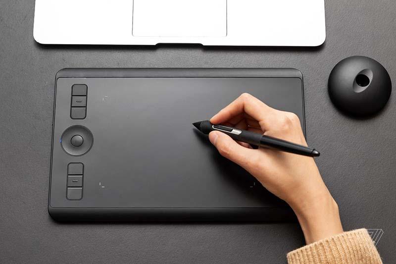 Графический планшет формата А5
