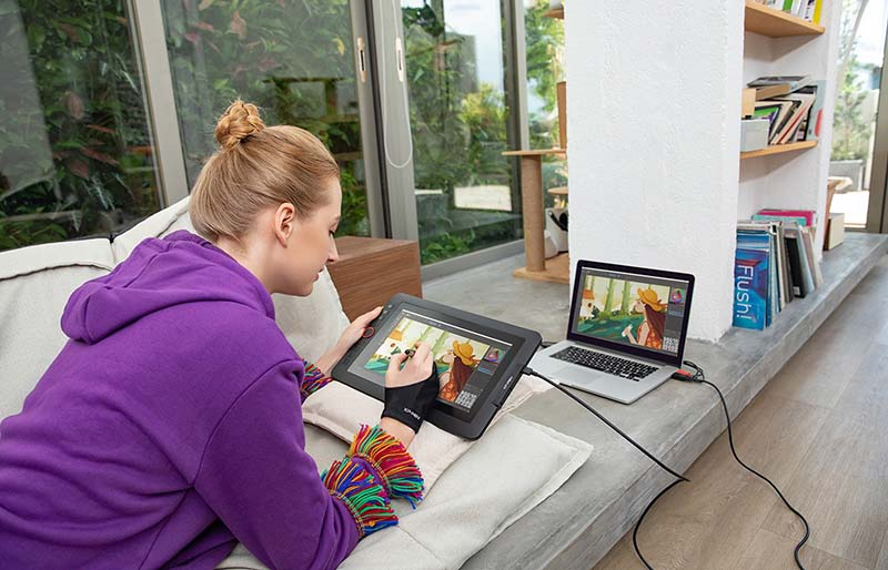 Цифровое рисование на графическом мониторе